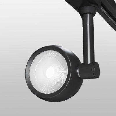 Однофазный трековый светильник Oriol Черный 12W 4200K (LTB48) однофазный Электростандарт фото