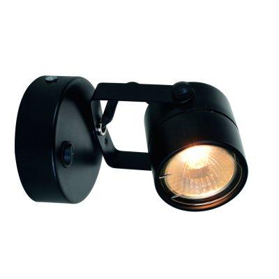 Светильник настенный черный A1310AP-1BK Arte lamp фото