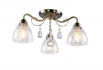 Люстра Arte lamp A1658PL-3AB Rugiadaсовременные потолочные люстры<br>Люстра Arte lamp A1658PL-3AB Rugiada сделает Ваш интерьер современным, стильным и запоминающимся! Наиболее функционально и эстетически привлекательно модель будет смотреться в гостиной, зале, холле или другой комнате. А в комплекте с настенными бра и торшером из этой же коллекции, сделает интерьер по-дизайнерски профессиональным и законченным.