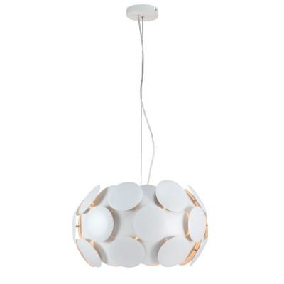 Светильник Arte lamp a5839sp-4wh PlutoПодвесные<br>Компания «Светодом» предлагает широкий ассортимент люстр от известных производителей. Представленные в нашем каталоге товары выполнены из современных материалов и обладают отличным качеством. Благодаря широкому ассортименту Вы сможете найти у нас люстру под любой интерьер. Мы предлагаем как классические варианты, так и современные модели, отличающиеся лаконичностью и простотой форм.  Стильная люстра Arte lamp A5839SP-4WH станет украшением любого дома. Эта модель от известного производителя не оставит равнодушным ценителей красивых и оригинальных предметов интерьера. Люстра Arte lamp A5839SP-4WH обеспечит равномерное распределение света по всей комнате. При выборе обратите внимание на характеристики, позволяющие приобрести наиболее подходящую модель. Купить понравившуюся люстру по доступной цене Вы можете в интернет-магазине «Светодом».<br><br>Установка на натяжной потолок: Да<br>S освещ. до, м2: 12<br>Крепление: Крюк<br>Тип лампы: Накаливания / энергосбережения / светодиодная<br>Тип цоколя: E27<br>Цвет арматуры: белый<br>Количество ламп: 4<br>Диаметр, мм мм: 470<br>Высота, мм: 280 - 1480<br>MAX мощность ламп, Вт: 60