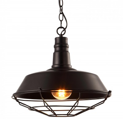 Светильник подвесной Arte lamp A9183SP-1BK Ferrico фото