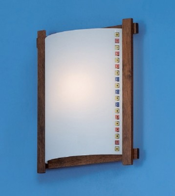 Citilux Кубики CL921006R Светильник настенный браНакладные<br><br><br>S освещ. до, м2: 6<br>Тип лампы: накаливания / энергосбережения / LED-светодиодная<br>Тип цоколя: E27<br>Количество ламп: 1<br>Ширина, мм: 245<br>MAX мощность ламп, Вт: 100<br>Размеры: Стеклянный рассеиватель, Высота 25см, Ширина 20см, Глубина 9см.<br>Расстояние от стены, мм: 90<br>Высота, мм: 290<br>Поверхность арматуры: матовый<br>Цвет арматуры: деревянный, коричневый, венге