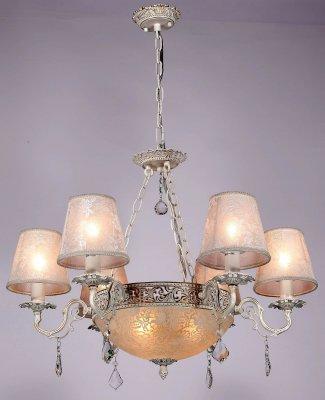 Citilux CL424161 Люстра подвеснаяПодвесные<br><br><br>S освещ. до, м2: 24<br>Тип товара: Люстра подвесная<br>Тип лампы: накаливания / энергосбережения / LED-светодиодная<br>Тип цоколя: E14<br>Количество ламп: 9<br>MAX мощность ламп, Вт: 40<br>Диаметр, мм мм: 690<br>Размеры: Диаметр 69см, Высота без цепи 48см, В центральном плафоне 3 лампы Е27<br>Высота, мм: 530 - 1530<br>Поверхность арматуры: глянцевый, рельефный<br>Цвет арматуры: белый, золото