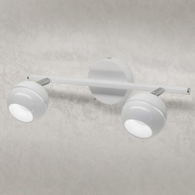 Citilux CL555520 СветильникДвойные<br><br><br>Тип товара: Светильник<br>Тип лампы: LED<br>Тип цоколя: LED<br>Ширина, мм: 350<br>MAX мощность ламп, Вт: 5<br>Расстояние от стены, мм: 100<br>Высота, мм: 90<br>Цвет арматуры: белый