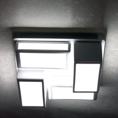 Citilux CL711060 СветильникПотолочные<br>Компания «Светодом» предлагает широкий ассортимент люстр от известных производителей. Представленные в нашем каталоге товары выполнены из современных материалов и обладают отличным качеством. Благодаря широкому ассортименту Вы сможете найти у нас люстру под любой интерьер. Мы предлагаем как классические варианты, так и современные модели, отличающиеся лаконичностью и простотой форм.  Стильная люстра Citilux CL711060 станет украшением любого дома. Эта модель от известного производителя не оставит равнодушным ценителей красивых и оригинальных предметов интерьера. Люстра Citilux CL711060 обеспечит равномерное распределение света по всей комнате. При выборе обратите внимание на характеристики, позволяющие приобрести наиболее подходящую модель. Купить понравившуюся люстру по доступной цене Вы можете в интернет-магазине «Светодом».<br><br>Установка на натяжной потолок: Да<br>S освещ. до, м2: 12<br>Крепление: Планка<br>Тип лампы: LED<br>Тип цоколя: LED<br>Цвет арматуры: белый<br>Количество ламп: 4<br>Ширина, мм: 390<br>Длина, мм: 390<br>Высота, мм: 200<br>MAX мощность ламп, Вт: 60