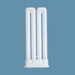 Лампа люминесцентная Osram Dulux F 36W/21-840 2G10Компактные ЛЛ<br>Лампы OSRAM DULUX® F — это новые, очень плоские компактные люминесцентные лампы с высокой светоотдачей. Они оптимально подходят для освещения поверхностей с помощью модульных светильников 2 М и 3 М (с длиной стороны 200 и 300мм), например для квадратных встроенных или пристроенных светильников, для плоских настенных и потолочных светильников, а также для светильников типа Downlights и Uplights.- высокая светоотдача: при работе с ЭПРА QUICKTRONIC®. Световой поток лампы DULUX® F 36W при работе с этим ПРА на 13% больше, чем у двух ламп OSRAM DULUX® L 18W- небольшие габариты: эта лампа примерно вдвое короче лампы OSRAM DULUX® L аналогичной мощности- лампа DULUX® F 36W обслуживается проще и требует меньших системных затрат, чем две лампы OSRAM DULUX® L 18W- возможность работы с такими же высокочастотными электронными ПРА или электромагнитными ПРА, как у ламп OSRAM DULUX® L аналогичной мощности- четырехштырьковый цоколь- при работе с электронными ПРА средний срок службы лампы составляет 10.000 часов, при работе с электромагнитными ПРА — 8.000 часов Классификация: W15 lm90 d60 l105 E27 W25 lm220 d60 l105 E27 W40 lm420 d60 l105 E27 W60 lm720 d60 l105 E27 W75 lm940 d60 l105 E27 W100 lm1360 d60 l105 E27 W150 lm2200 d65 l123 E27 W200 lm3100 d80 l156 E27  Сокращения: W-мощность в вт, lm-световой поток в люменах, d-диаметр в mm, l-длина в мм, E27,E14...-цоколи (стандартный,миньон...)<br><br>Цветовая t, К: CW - холодный белый 4000 К<br>Тип лампы: Энергосберегающая<br>Тип цоколя: 2G10<br>MAX мощность ламп, Вт: 36<br>Оттенок (цвет): холодный-белый