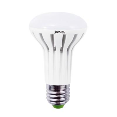 Лампа светодиодная R63Jazzway LED 6W E27 2700K 440LmЗеркальные E27, E14<br>В интернет-магазине «Светодом» можно купить не только люстры и светильники, но и лампочки. В нашем каталоге представлены светодиодные, галогенные, энергосберегающие модели и лампы накаливания. В ассортименте имеются изделия разной мощности, поэтому у нас Вы сможете приобрести все необходимое для освещения.   Лампа R63Jazzway LED 6W E27 2700K 440Lm обеспечит отличное качество освещения. При покупке ознакомьтесь с параметрами в разделе «Характеристики», чтобы не ошибиться в выборе. Там же указано, для каких осветительных приборов Вы можете использовать лампу R63Jazzway LED 6W E27 2700K 440LmR63Jazzway LED 6W E27 2700K 440Lm.   Для оформления покупки воспользуйтесь «Корзиной». При наличии вопросов Вы можете позвонить нашим менеджерам по одному из контактных номеров. Мы доставляем заказы в Москву, Екатеринбург и другие города России.<br><br>Цветовая t, К: WW - теплый белый 2700-3000 К<br>Тип лампы: LED - светодиодная<br>Тип цоколя: E27<br>MAX мощность ламп, Вт: 6<br>Диаметр, мм мм: 63<br>Высота, мм: 104