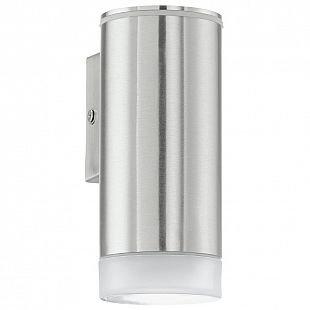 Eglo RIGA-LED 92735 уличные светильникиНастенные<br>Обеспечение качественного уличного освещения – важная задача для владельцев коттеджей. Компания «Светодом» предлагает современные светильники, которые порадуют Вас отличным исполнением. В нашем каталоге представлена продукция известных производителей, пользующихся популярностью благодаря высокому качеству выпускаемых товаров.   Уличный светильник Eglo 92735 не просто обеспечит качественное освещение, но и станет украшением Вашего участка. Модель выполнена из современных материалов и имеет влагозащитный корпус, благодаря которому ей не страшны осадки.   Купить уличный светильник Eglo 92735, представленный в нашем каталоге, можно с помощью онлайн-формы для заказа. Чтобы задать имеющиеся вопросы, звоните нам по указанным телефонам.<br><br>Тип лампы: LED<br>Тип цоколя: GU10-LED<br>MAX мощность ламп, Вт: 1X3W<br>Длина, мм: 65<br>Расстояние от стены, мм: 95<br>Высота, мм: 160<br>Оттенок (цвет): сатинированный<br>Цвет арматуры: серебристый<br>Общая мощность, Вт: 2