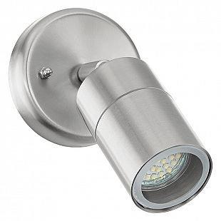 Eglo STOCKHOLM 1 93268 уличные светильникиСнято с производства<br><br><br>Тип цоколя: GU10-LED<br>MAX мощность ламп, Вт: 1X5W<br>Диаметр, мм мм: 65<br>Оттенок (цвет): прозрачный<br>Цвет арматуры: сталь<br>Общая мощность, Вт: 2