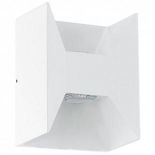 Eglo MORIнет 93318 Светильник настенный уличныйХай-тек<br><br><br>Цветовая t, К: 3000 (теплый белый)<br>Тип цоколя: LED-MODUL<br>MAX мощность ламп, Вт: 2X2,5<br>Длина, мм: 140<br>Расстояние от стены, мм: 105<br>Высота, мм: 180<br>Цвет арматуры: белый<br>Общая мощность, Вт: 1