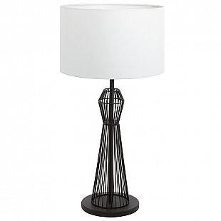 Eglo VALSENO 93989 Настольные лампыСовременные<br>Настольная лампа – это не просто источник дополнительного освещения, но и оригинальный элемент декора. Его можно установить в спальне, гостиной, кабинете и других комнатах. Интернет-магазин «Светодом» предлагает настольные лампы разных стилей по доступным ценам. Благодаря большому ассортименту Вы обязательно найдете в нашем каталоге именно ту модель, которую искали.   Настольная лампа Eglo 93989 – прекрасный вариант для завершения интерьера. Ее можно включить одновременно с люстрой для более яркого освещения или без нее для создания уютной атмосферы, настраивающей на отдых.   Купить настольную лампу Eglo 93989 Вы можете с помощью виртуальной «Корзины» или по контактным номерам, указанным на сайте.<br><br>Тип лампы: Накаливания / энергосбережения / светодиодная<br>Тип цоколя: E27<br>Диаметр, мм мм: 355<br>Размеры основания, мм: 0<br>Высота, мм: 665<br>Оттенок (цвет): белый<br>Цвет арматуры: черный<br>Общая мощность, Вт: 1X60W
