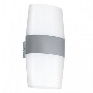 Eglo RAVARIнет 94119 светильник уличныйНастенные<br>Обеспечение качественного уличного освещения – важная задача для владельцев коттеджей. Компания «Светодом» предлагает современные светильники, которые порадуют Вас отличным исполнением. В нашем каталоге представлена продукция известных производителей, пользующихся популярностью благодаря высокому качеству выпускаемых товаров.   Уличный светильник Eglo RAVARIнет 94119 уличный не просто обеспечит качественное освещение, но и станет украшением Вашего участка. Модель выполнена из современных материалов и имеет влагозащитный корпус, благодаря которому ей не страшны осадки.   Купить уличный светильник Eglo RAVARIнет 94119 уличный, представленный в нашем каталоге, можно с помощью онлайн-формы для заказа. Чтобы задать имеющиеся вопросы, звоните нам по указанным телефонам.<br><br>Цветовая t, К: 3000 (теплый белый)<br>Тип цоколя: LED-MODUL<br>MAX мощность ламп, Вт: 4X2,5<br>Длина, мм: 140<br>Расстояние от стены, мм: 110<br>Высота, мм: 270<br>Оттенок (цвет): белый<br>Цвет арматуры: серебристый<br>Общая мощность, Вт: 1