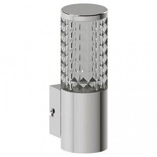 Eglo FONTACINA 94131 уличные светильникиНастенные<br>Обеспечение качественного уличного освещения – важная задача для владельцев коттеджей. Компания «Светодом» предлагает современные светильники, которые порадуют Вас отличным исполнением. В нашем каталоге представлена продукция известных производителей, пользующихся популярностью благодаря высокому качеству выпускаемых товаров.   Уличный светильник Eglo FONTACINA 94131 уличные светильники не просто обеспечит качественное освещение, но и станет украшением Вашего участка. Модель выполнена из современных материалов и имеет влагозащитный корпус, благодаря которому ей не страшны осадки.   Купить уличный светильник Eglo FONTACINA 94131 уличные светильники, представленный в нашем каталоге, можно с помощью онлайн-формы для заказа. Чтобы задать имеющиеся вопросы, звоните нам по указанным телефонам.<br><br>Цветовая t, К: 3000 (теплый белый)<br>Тип лампы: LED<br>Тип цоколя: LED-MODUL<br>MAX мощность ламп, Вт: 1X3,7W<br>Длина, мм: 75<br>Расстояние от стены, мм: 110<br>Высота, мм: 230<br>Оттенок (цвет): прозрачный<br>Цвет арматуры: серебристый<br>Общая мощность, Вт: 1