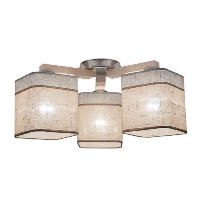 Купить Люстра потолочная TK Lighting 1915 Nadia White 3, Китай, Металл/дерево