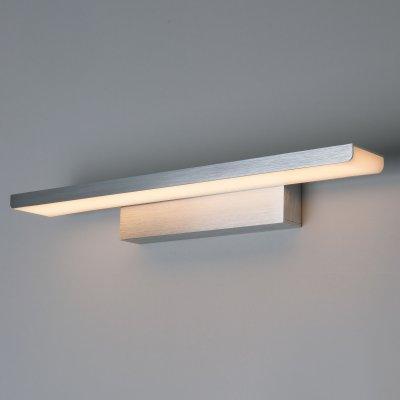 Купить Настенный светильник бра Евросвет Sankara LED серебристая (MRL LED 16W 1009 IP20), Китай, алюминий