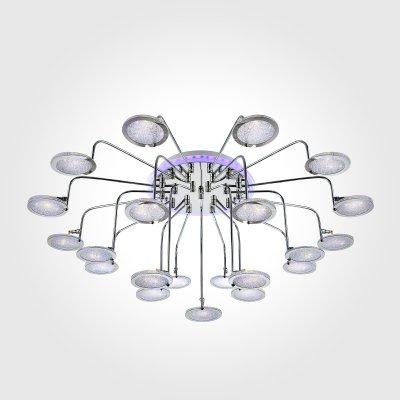 Потолочный светильник Евросвет 80109/21 хром/синий+фиолетовыйОжидается<br><br>