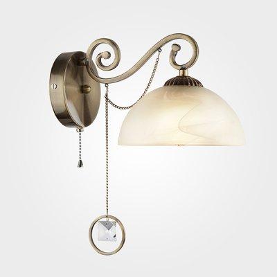 Настенный светильник бра Евросвет 60062/1 античная бронза фото