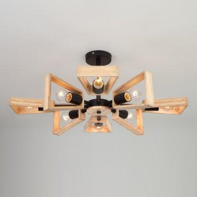 Потолочный светильник Евросвет 70056/8 черный