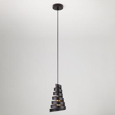 Подвесной светильник Евросвет 50058/1 черныйодиночные подвесные светильники<br>