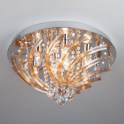 Купить Потолочный светильник Евросвет 80116/8 хром/белый, Китай