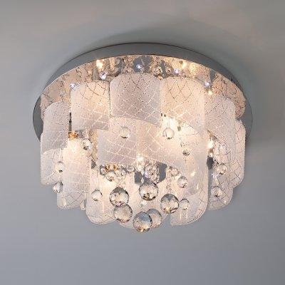 Купить Потолочный светильник Евросвет 80117/8 хром/белый, Китай