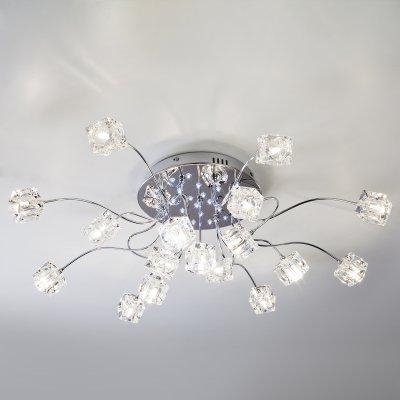 Купить Потолочный светильник Евросвет 80113/17 хром/белый, Китай