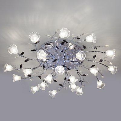 Потолочный светильник Евросвет 80114/21 хром/белыйОжидается<br><br>