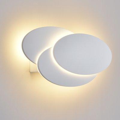 Настенный светильник бра Евросвет Elips LED белый матовый (MRL LED 12W 1014 IP20)Ожидается<br><br>