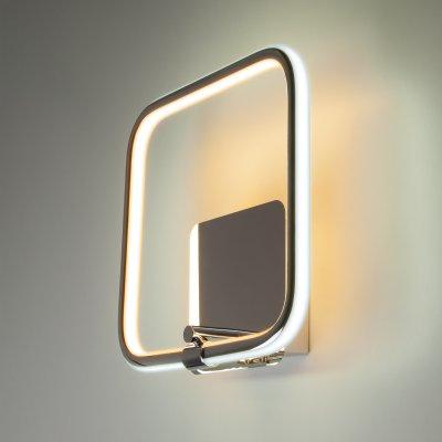 Настенный светильник бра Евросвет 90067/1 хром