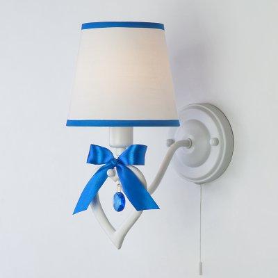 Купить Настенный светильник бра Евросвет 60066/1 белый/синий, Китай