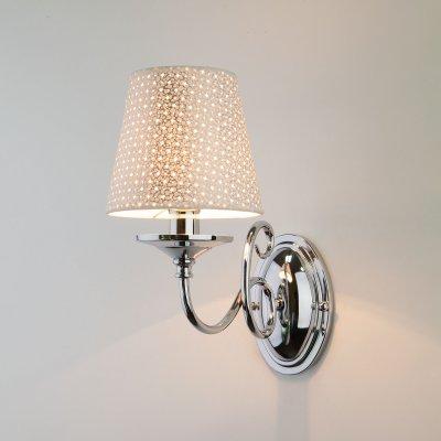 Купить Настенный светильник бра Евросвет 70068/1 хром, Китай