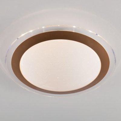 Люстра Евросвет 40002/1 LED матовое золото