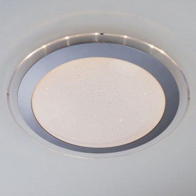 Потолочный светильник Евросвет 40002/1 LED матовое серебро