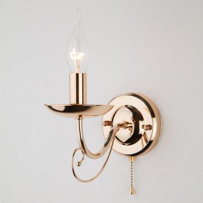 Настенный светильник бра Евросвет 22404/1 золото