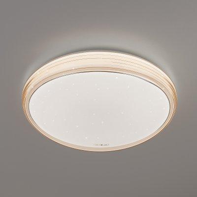 Люстра Евросвет 40008/1 LED кофекруглые светильники<br><br><br>Цветовая t, К: 3000 - 7000<br>Тип лампы: LED - светодиодная<br>Тип цоколя: LED, встроенные светодиоды<br>Цвет арматуры: коричневый<br>Диаметр, мм мм: 490<br>Высота, мм: 90<br>Поверхность арматуры: матовая<br>Оттенок (цвет): белый<br>MAX мощность ламп, Вт: 70