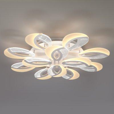 Потолочный светильник Евросвет 90140/12 белый Flake фото