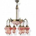 Люстра Exotic lamp 03452-17 Fortue