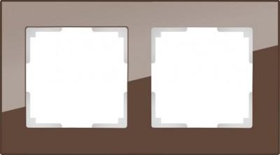 Рамка на 2 поста (мокко) Werkel Favorit WL01-Frame-02Werkel<br>Рамка на 2 поста (мокко) Werkel Favorit WL01-Frame-02  является неотъемлемой частью коллекции, важной электротехнической необходимостью в доме и эстетически красивым элементом в концепции всего дизайна помещения. В одной комнате рекомендовано устанавливать розетки и выключатели одного производителя, серии и оттенка для гармоничного сочетания всей электрики.