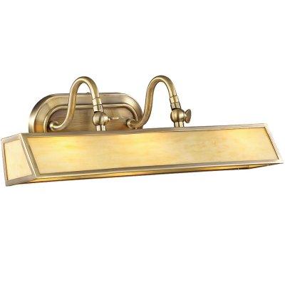 Светильник Favourite 1398-3wДля картин/зеркал<br><br><br>S освещ. до, м2: 8<br>Тип лампы: накаливания / энергосбережения / LED-светодиодная<br>Тип цоколя: E14<br>Количество ламп: 3<br>Ширина, мм: 450<br>MAX мощность ламп, Вт: 40<br>Диаметр, мм мм: 200<br>Размеры: W450*D200*H180<br>Высота, мм: 180<br>Цвет арматуры: бронзовый