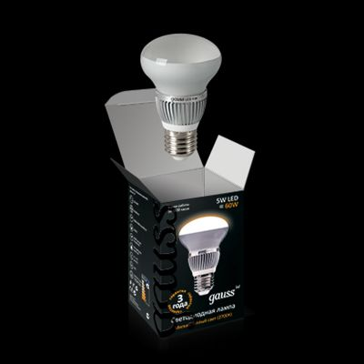 Лампа Gauss LED R50 FROST 5W E14 4100K EB106101205