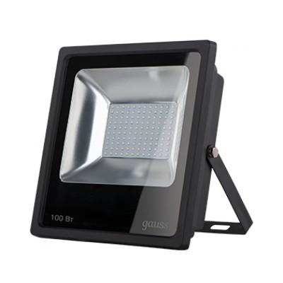 Прожектор светодиодный Gauss LED 100W IP65 6500К черныйОжидается<br><br>