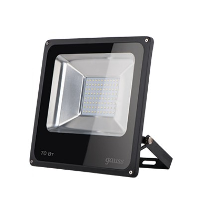 Прожектор светодиодный Gauss LED 70W IP65 6500К черныйОжидается<br><br>
