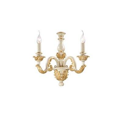 Купить Светильник бра Ideal Lux GIGLIO AP2 ORO, Италия