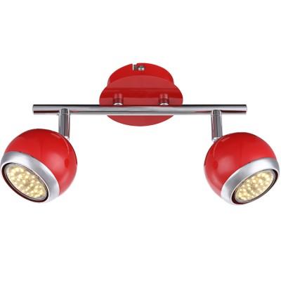 Светильник Globo 57885-2 OmanДвойные<br>Светильники-споты – это оригинальные изделия с современным дизайном. Они позволяют не ограничивать свою фантазию при выборе освещения для интерьера. Такие модели обеспечивают достаточно качественный свет. Благодаря компактным размерам Вы можете использовать несколько спотов для одного помещения.  Интернет-магазин «Светодом» предлагает необычный светильник-спот Globo 57885-2 по привлекательной цене. Эта модель станет отличным дополнением к люстре, выполненной в том же стиле. Перед оформлением заказа изучите характеристики изделия.  Купить светильник-спот Globo 57885-2 в нашем онлайн-магазине Вы можете либо с помощью формы на сайте, либо по указанным выше телефонам. Обратите внимание, что мы предлагаем доставку не только по Москве и Екатеринбургу, но и всем остальным российским городам.<br><br>Цветовая t, К: 3000<br>Тип лампы: накаливания / энергосберегающая / светодиодная<br>Тип цоколя: GU10<br>Количество ламп: 2<br>MAX мощность ламп, Вт: 3<br>Диаметр, мм мм: 250<br>Высота, мм: 150<br>Поверхность арматуры: матовый, глянцевый<br>Цвет арматуры: серебристый<br>Общая мощность, Вт: 6