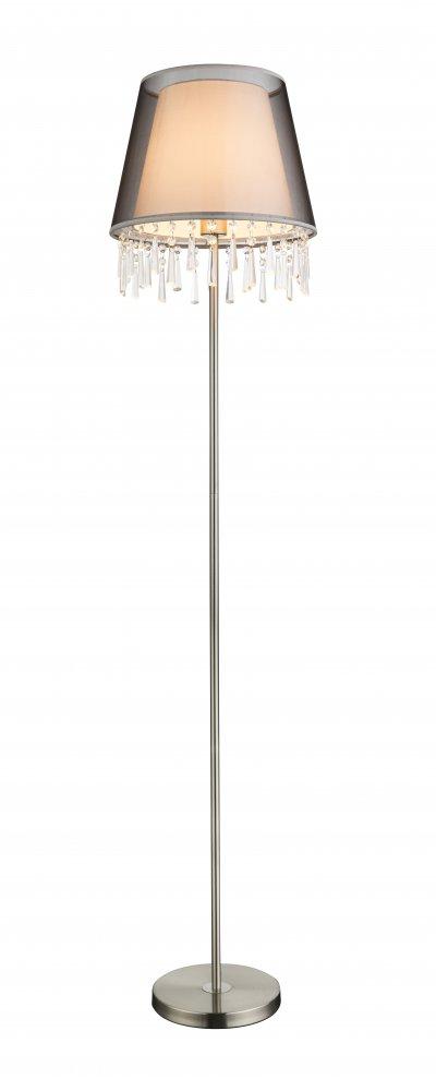 Торшер Globo 15093S SATINEОжидается<br><br><br>Тип цоколя: E27<br>Цвет арматуры: серебристый никель, черный<br>Количество ламп: 1<br>Диаметр, мм мм: 340<br>Высота, мм: 1540<br>MAX мощность ламп, Вт: 60