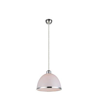 Светильник подвесной Globo 15179 CARLOОдиночные<br><br><br>Тип товара: Светильник подвесной<br>Скидка, %: 15<br>Тип цоколя: E27<br>Количество ламп: 1<br>MAX мощность ламп, Вт: 40<br>Цвет арматуры: белый