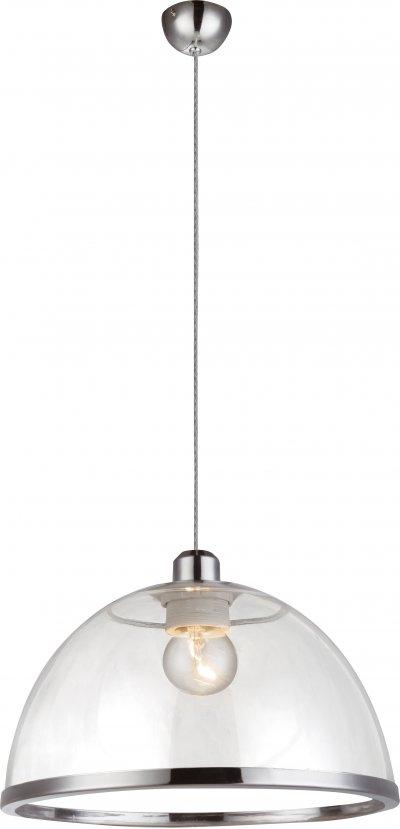 Светильник подвесной Globo 151800Ожидается<br><br><br>Тип цоколя: E27<br>Диаметр, мм мм: 340<br>Высота, мм: 1200<br>Цвет арматуры: прозрачный