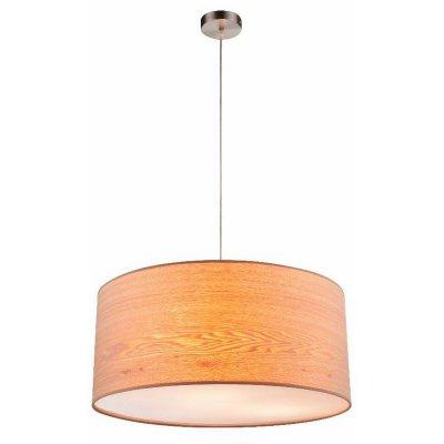 Светильник подвесной Globo 15189h1 AMY IIПодвесные<br><br><br>Установка на натяжной потолок: Да<br>S освещ. до, м2: 9<br>Тип цоколя: E27<br>Цвет арматуры: коричневый<br>Количество ламп: 3<br>Диаметр, мм мм: 530<br>Высота, мм: 1400<br>MAX мощность ламп, Вт: 60