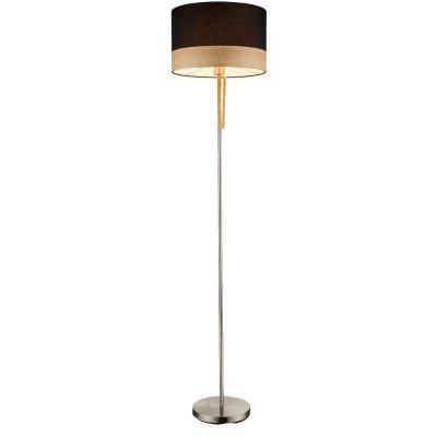Торшер Globo 15222s CHIPSYСовременные торшеры<br><br><br>Тип цоколя: E27<br>Цвет арматуры: черный<br>Количество ламп: 1<br>Диаметр, мм мм: 400<br>Высота, мм: 1700<br>MAX мощность ламп, Вт: 60