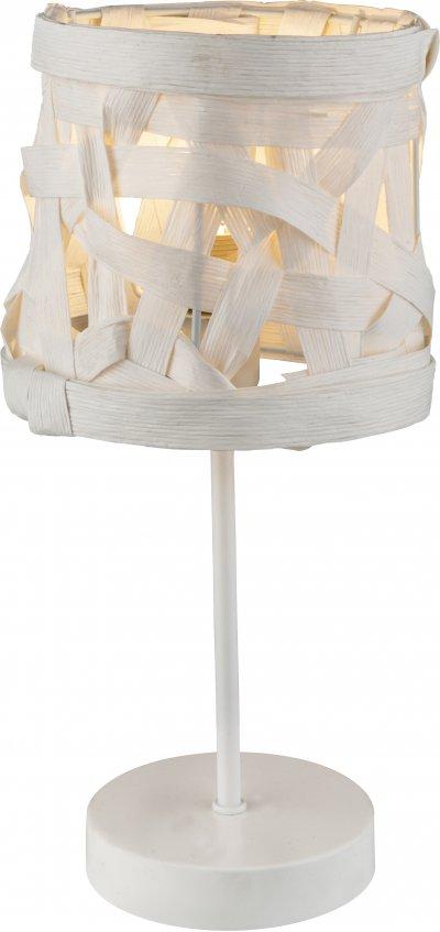 Настольная лампа Globo 15223TСовременные настольные лампы модерн<br><br><br>Тип лампы: Накаливания / энергосбережения / светодиодная<br>Тип цоколя: E14<br>Цвет арматуры: белый<br>Диаметр, мм мм: 170<br>Высота, мм: 350
